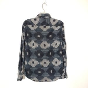 American Eagle Outfitters Tops - AEO Boho Tribal Long Sleeve Button Down Shirt